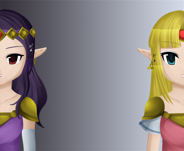 Hilda And Zelda A Link Between Worlds