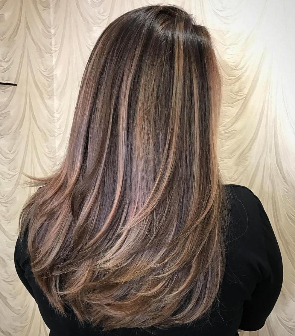 layered haircut for long thick hair | estilismo | pinterest | layer