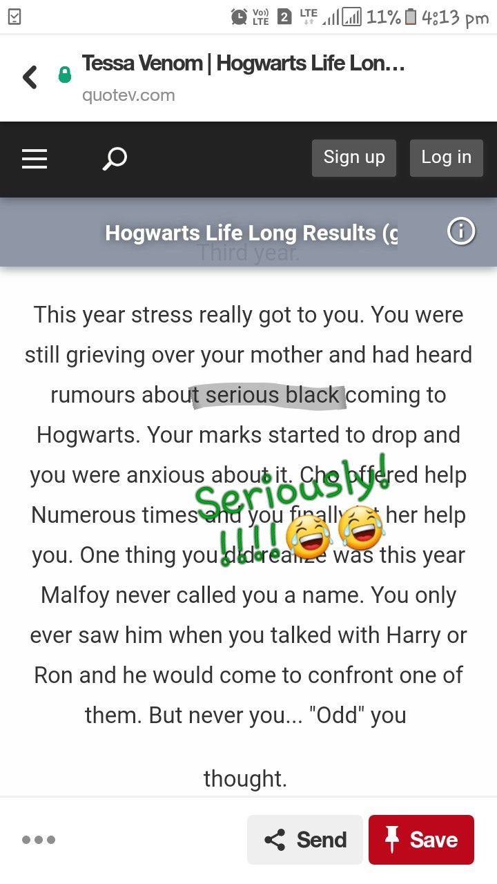Bad Blood Quotev Hahaha Harry Potter Pinterest Harry Potter