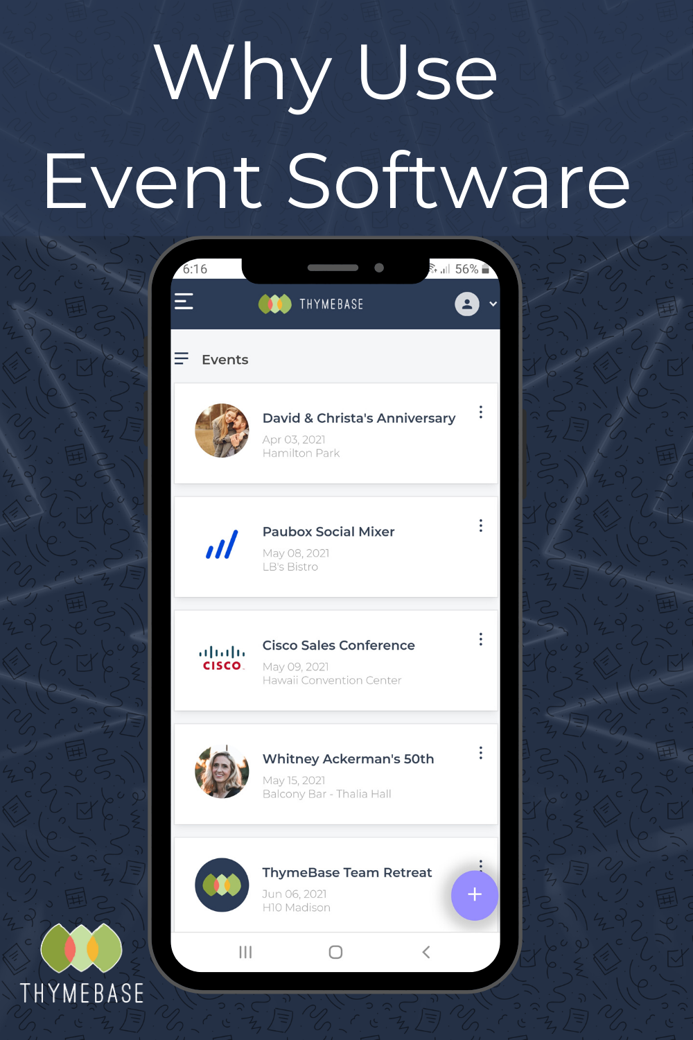 Ever wonder why you should even use event planning software? Isn't a pen and paper or Excel enough? Well, no. Here's why. . . . . . #eventtech #eventtechnology #eventprofs #event #eventdesign #eventmanagement #eventplanner #eventplanners #eventplanning #events #meetings #partyplanner #weddingplanner #corporateevents #thymebase