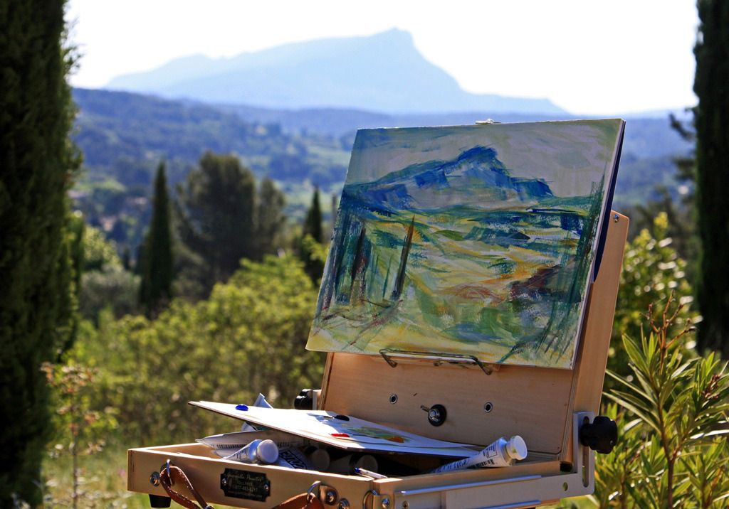 Aix en provence with cezanne and photographer mme miceli - Piscine plein air aix en provence ...