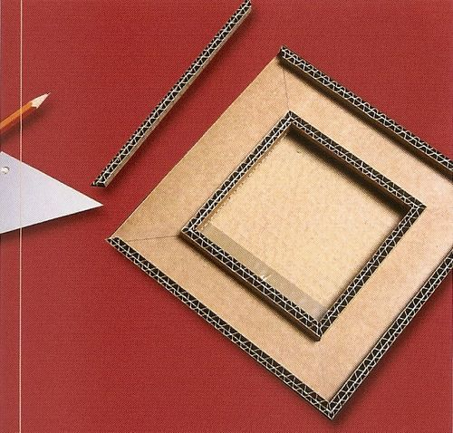 tutoriel fabriquer un petit cadre oriental en carton. Black Bedroom Furniture Sets. Home Design Ideas