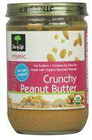 Tree Of Life Crunchy Organic Peanut Butter, No Salt, 16 oz - http://goodvibeorganics.com/tree-of-life-crunchy-organic-peanut-butter-no-salt-16-oz/