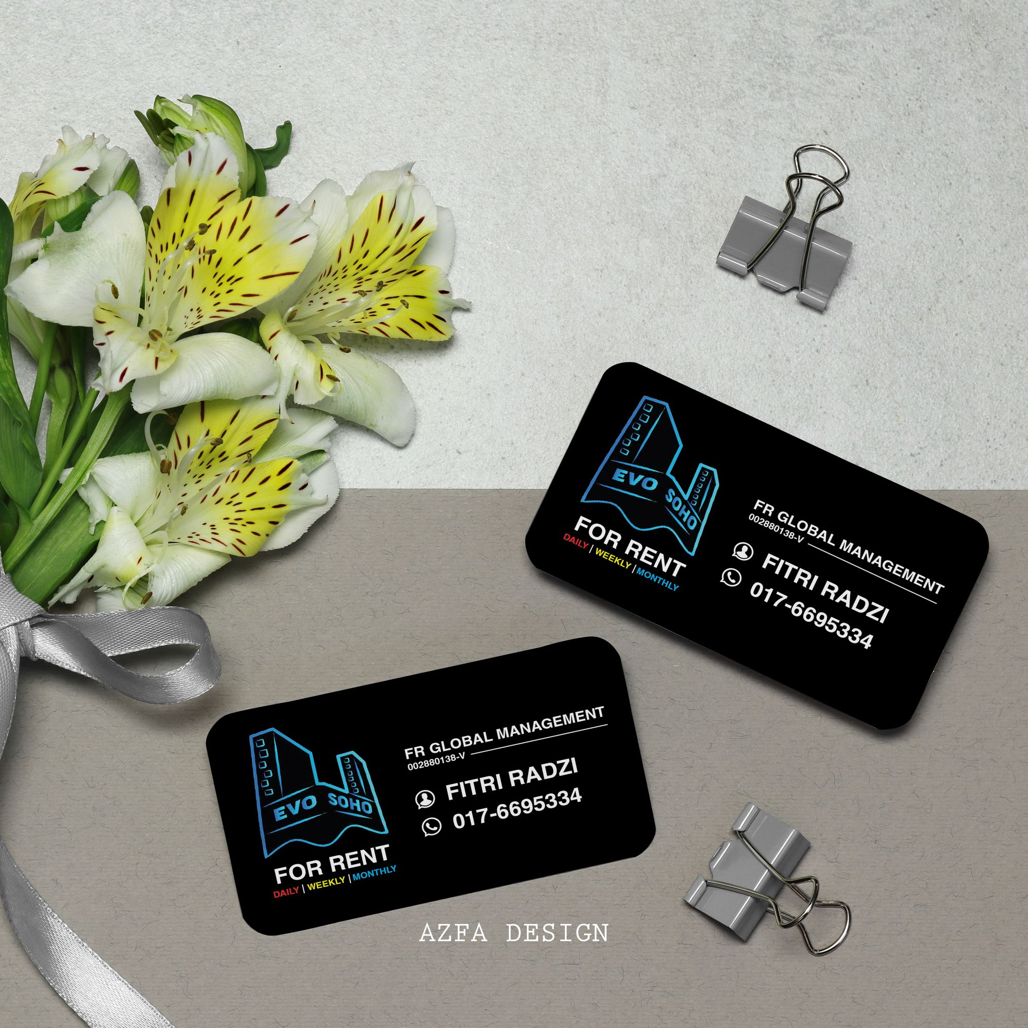 azfadesign bisneskad BOLEH BAGI BISNES KAD/NAME CARD