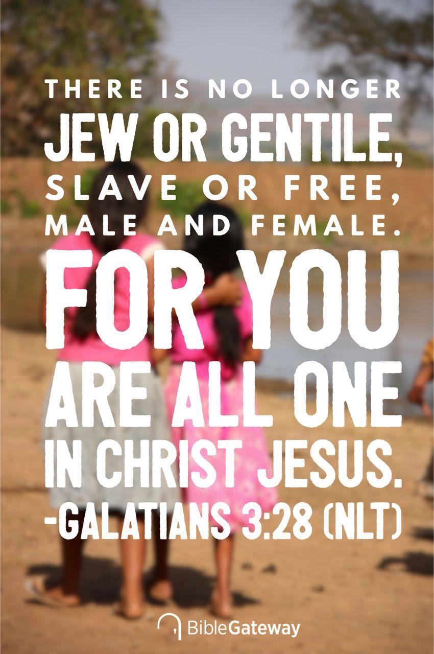 Galatians 3 28 Daily Bible Verse Yes And Amen Galatians