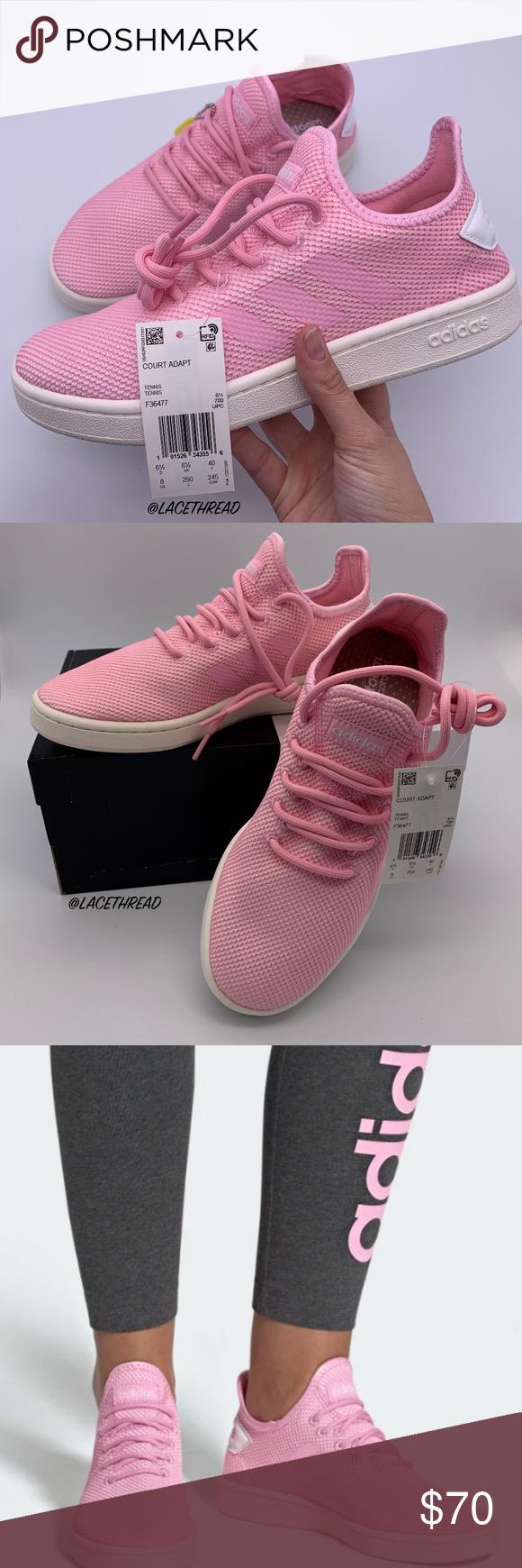 ADIDAS - WOMEN'S ESSENTIALS COURT ADAPT SNEAKERS | Adidas ...