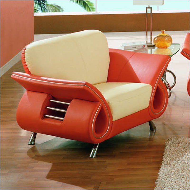 Best Global Furniture Usa Charles Beige And Burnt Orange 400 x 300