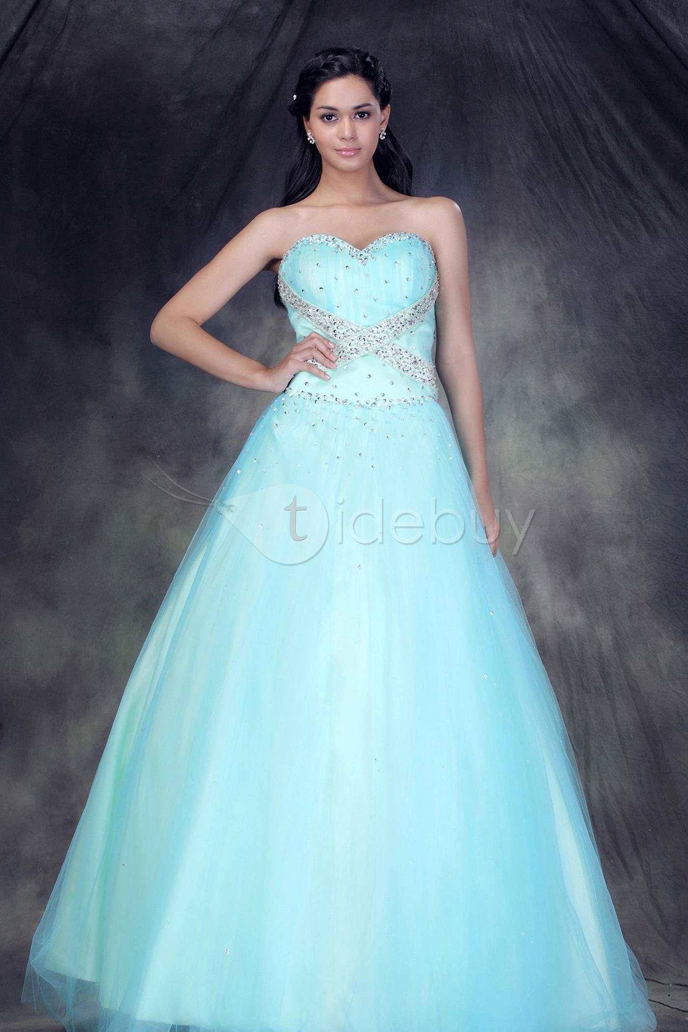 Elegant Sweetheart Floor-length Anderae's Ball Gown Dress