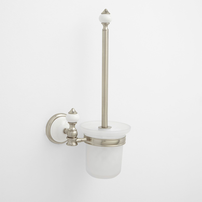 Adelaide Wall-Mount Toilet Brush Holder | Bathroom ideas | Pinterest ...