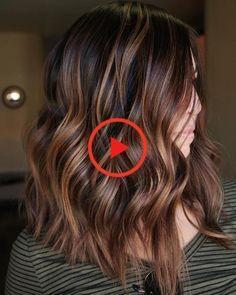 60 Looks avec des reflets caramel sur les cheveux bruns et brun foncé – Meilleur Coupes de cheveux