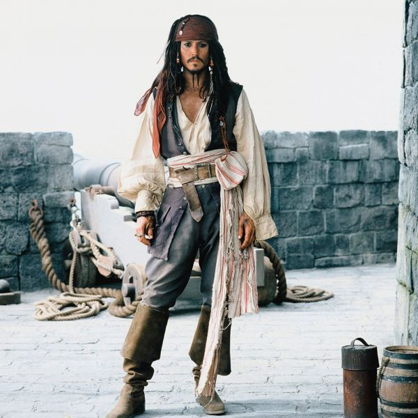 last minute costumes from your closet - Jack Sparrow Halloween Costumes