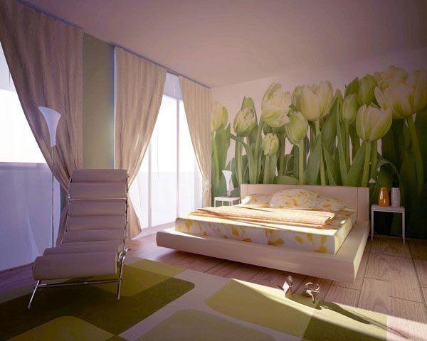 Arredare una camera da letto in stile giapponese - Fiori alle pareti ...