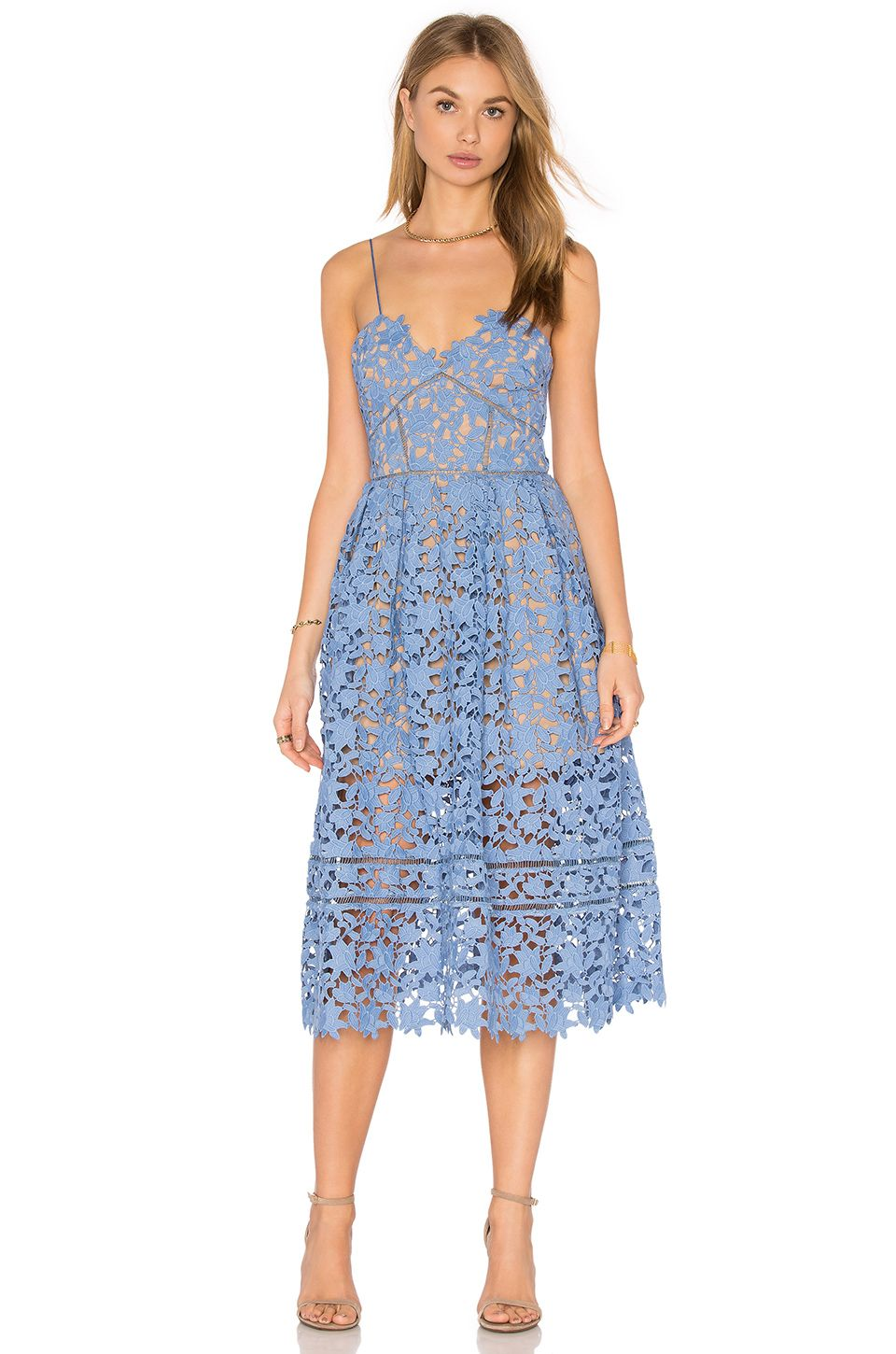 c483c0d45793 self-portrait Azaelea Dress in Blue | REVOLVE | In my closet please ...