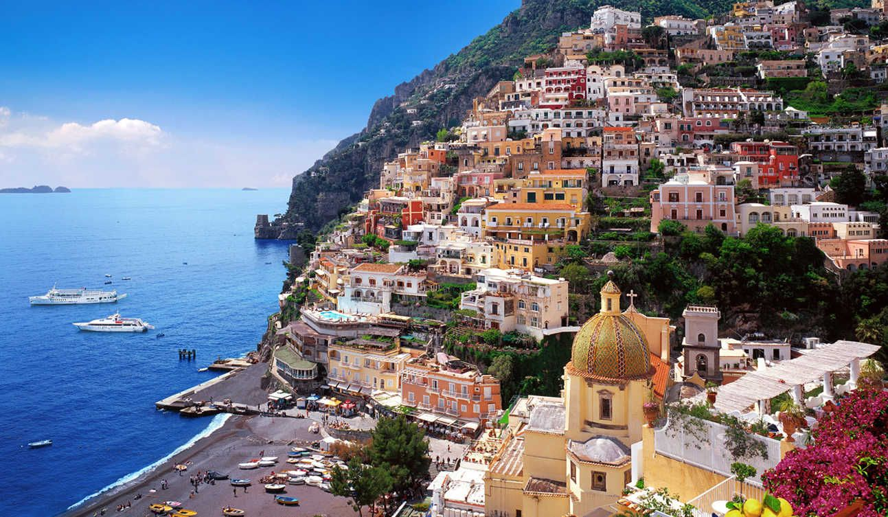 Positano italy wallpapers hd very beautiful and much - Italy screensaver ...