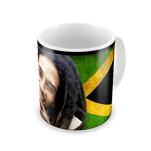 **Bob Marley** Crazy Mug. More fantastic cups & pots, pictures, music and videos of *Robert Nesta Marley* on: https://de.pinterest.com/ReggaeHeart/