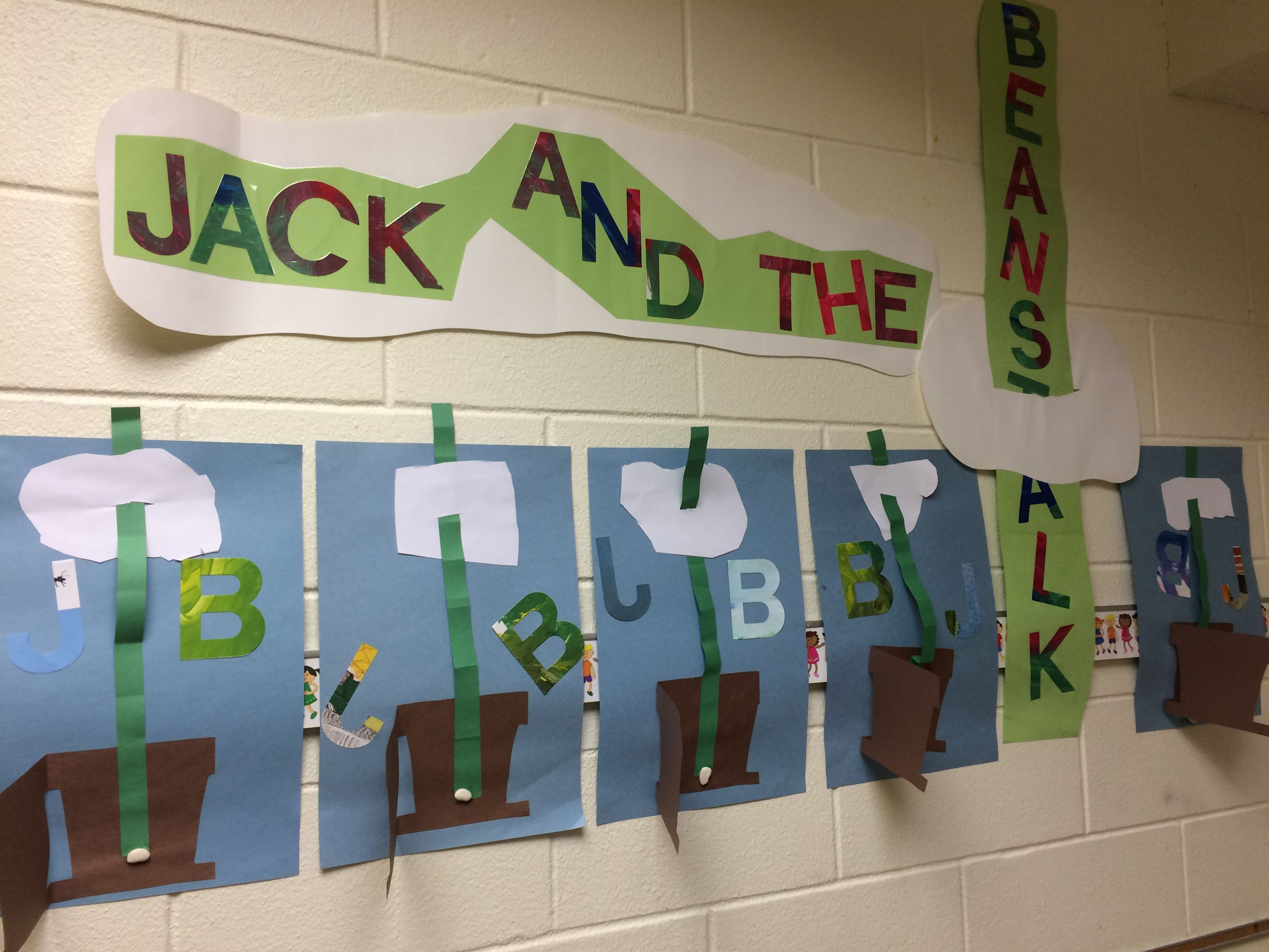 Jack And The Beanstalk Bulletin Board Perfect For Pre K