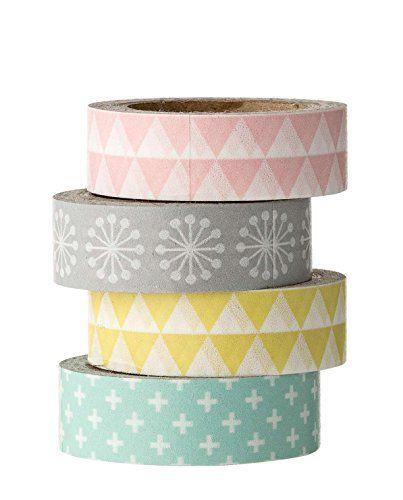Bloomingville de masking tape tons pastels Bloomingville   www