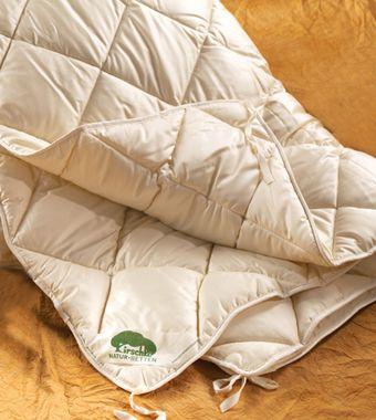 Kapok Kombidecke Mit Baumwolle Pur Eine Leichte Sommer Bettdecke