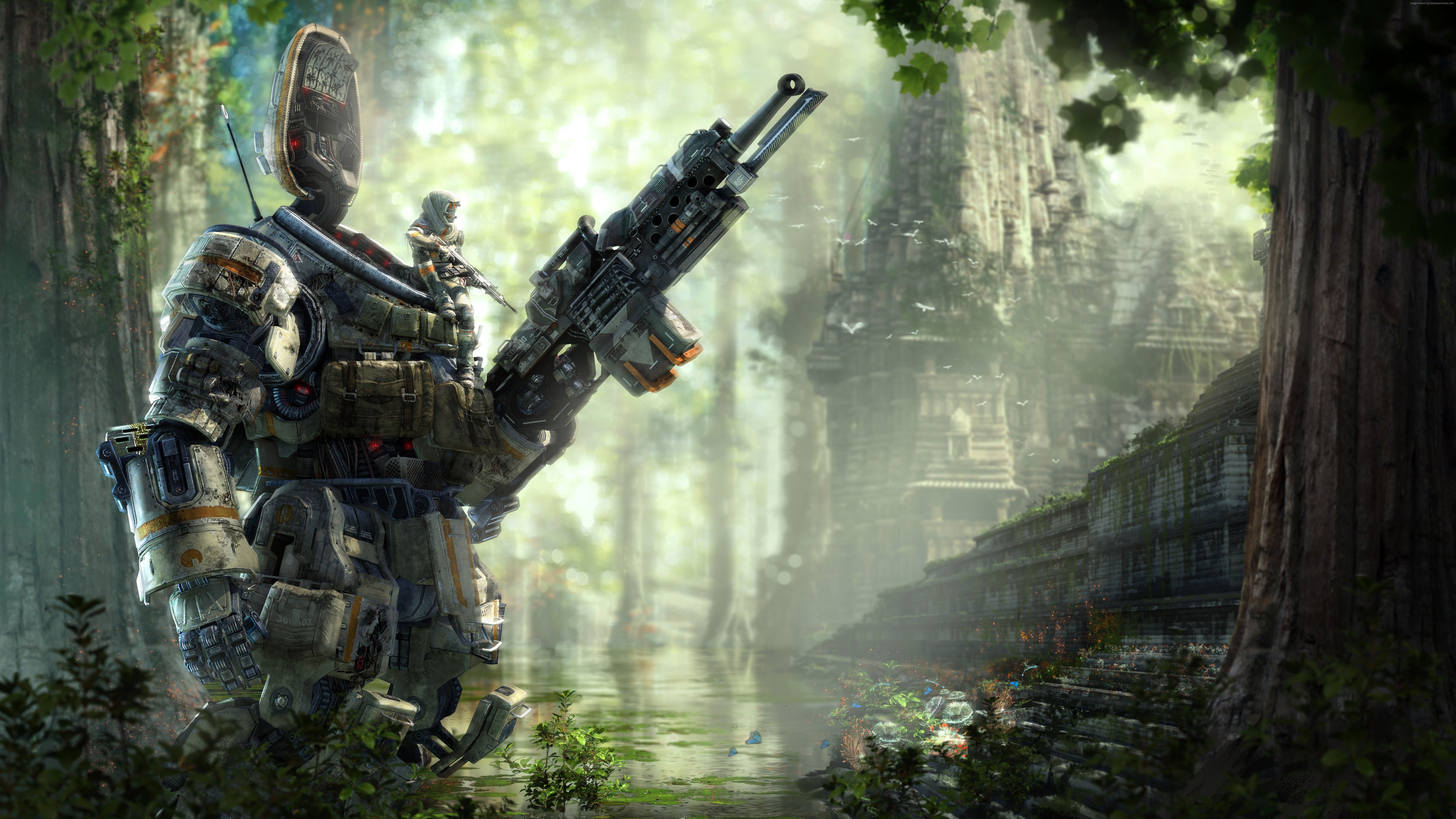 Titanfall 2 Ronin Wallpapers High Quality Resolution On Wallpaper 1080p Hd In 2020 Titanfall Titanfall Game Xbox One