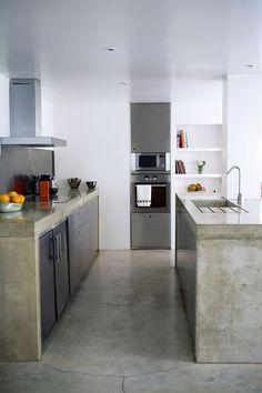 Blog Cocina De Cemento Cemento Pulido Cocina Cocina De Concreto