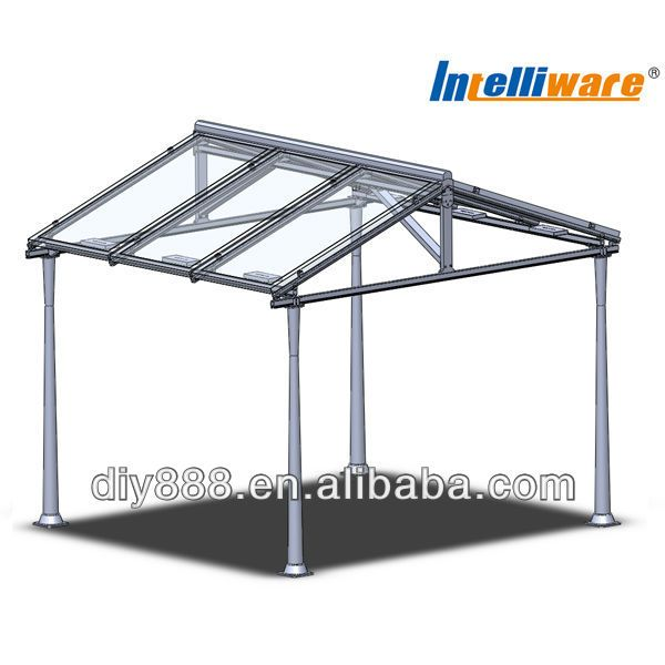 Diy Aluminum Solar Canopy/carport - Buy Mobile Carport Canopy ...