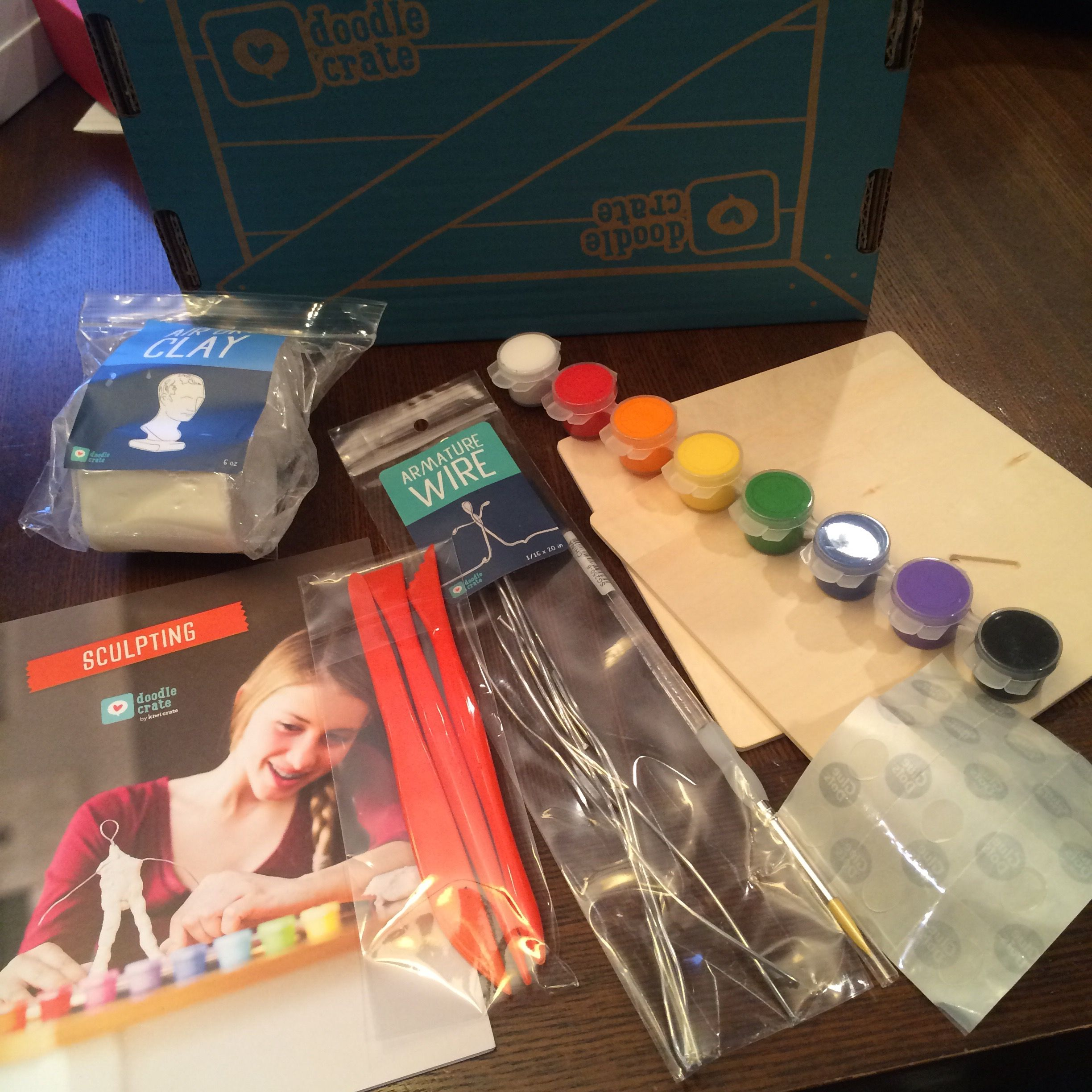 Kiwi Crate – Doodle Crate – February Review and Coupon!   The Subscriptionist