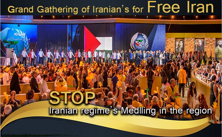 Major Free Iran Gathering By Hassan Mahmoudi