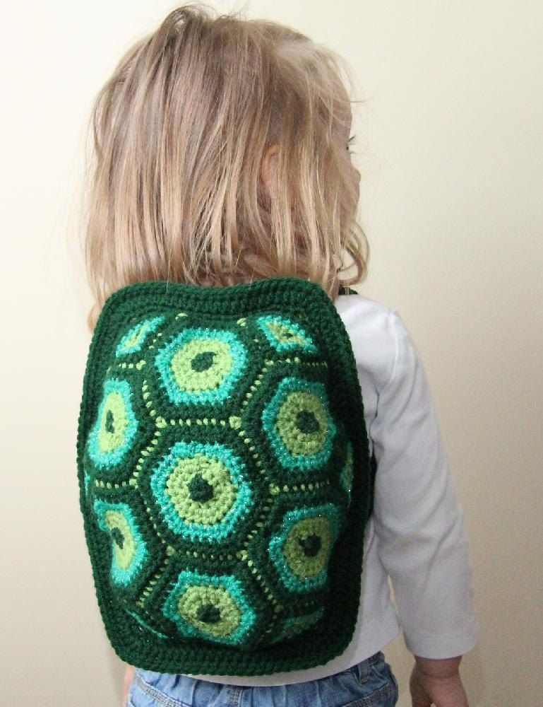 Little Turtle Backpack Crochet Backpack Crochet And Patterns