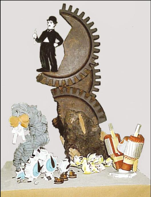 Charlie Chaplin Chocolate  Les Temps Modernes