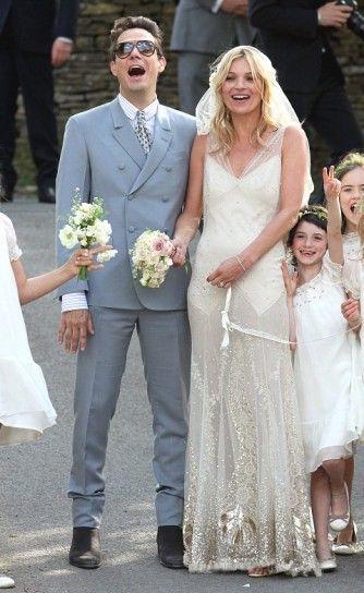 Vestito Da Sposa Kate Moss.Abiti Da Sposa Vip Abiti Da Sposa Delle Celebrita Abiti Da