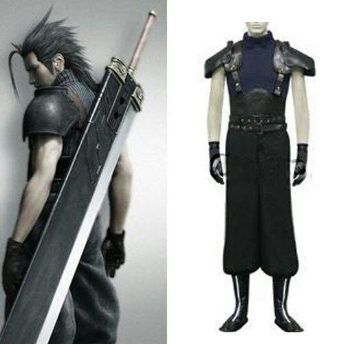 Anime Final Fantasy Cosplay Final Fantasy VII Seven Last Order Zack hommes Cosplay  Costume pour Halloween Party livraison gratuite