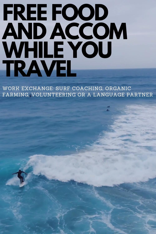 #travel #traveltips #budgettravel #freerent #food #best travel sites #jobs that travel #work travel tips #workaway #worldpackers #wwoofing