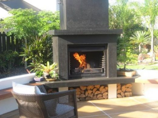 Fireplace By Warmington Outdoor Fireplaces Gas Wood Log Open Outdoor Alfresco Fireplace New