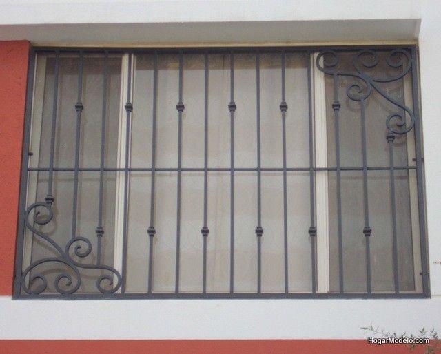 Imagen de modelo de verjas de hierro con dise o art stico for Modelos de puertas de fierro para casa