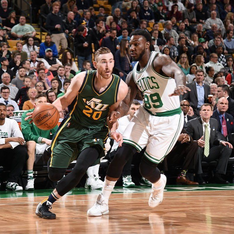 Report The Jazz Celtics Are Engaging On A Gordon Hayward Sign And Trade For Jae Crowder For Those That Don T Understand Why T Gordon Hayward Jae Crowder