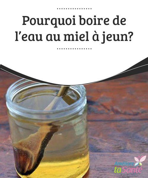 Pourquoi #boire de l'eau au miel à #jeun? Nous connaissons tous les #bienfaits du #miel et ses différentes applications dans le domaine de la beauté et de la #gastronomie.