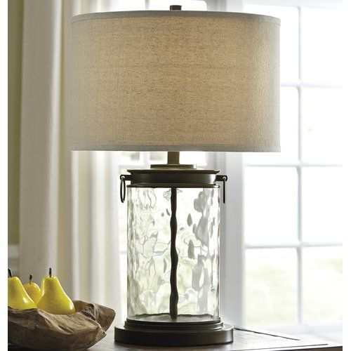 Laurel foundry modern farmhouse blanchard 25 5 table lamp