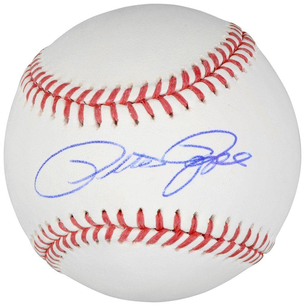 Pete Rose Cincinnati Reds Signed Baseball Memories Mounted Memories Cincinnati Reds Autographed Baseballs Pete Rose