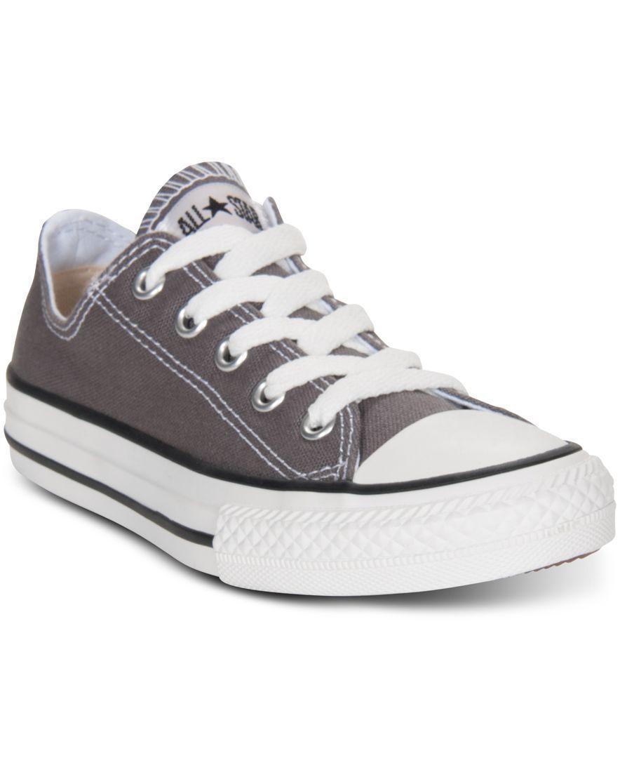 edc63bacc6bf Converse Boy  amp  Girl Chuck Taylor Original - Kids Kids Shoes - Macy s Boys  Converse