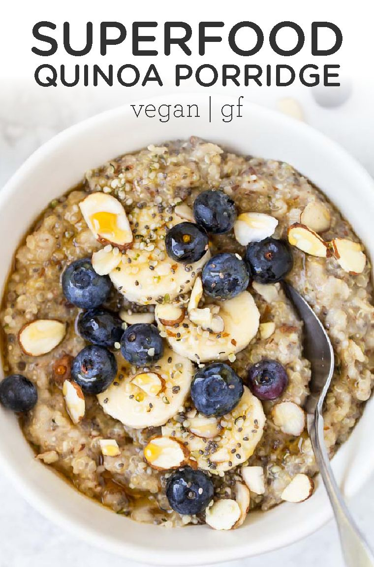 Photo of Superfood Quinoa Porridge