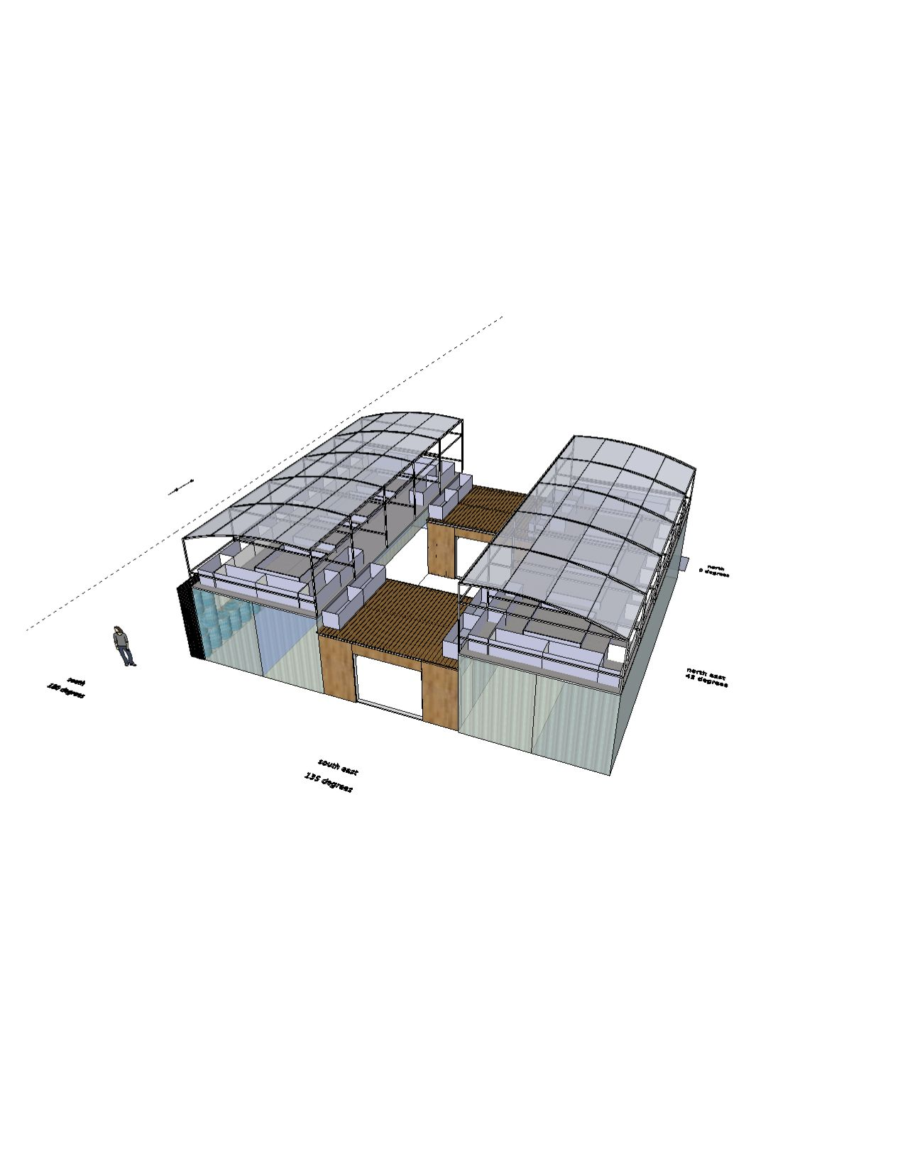 conceptual home/greenhouse 2 | Container home designs | Pinterest