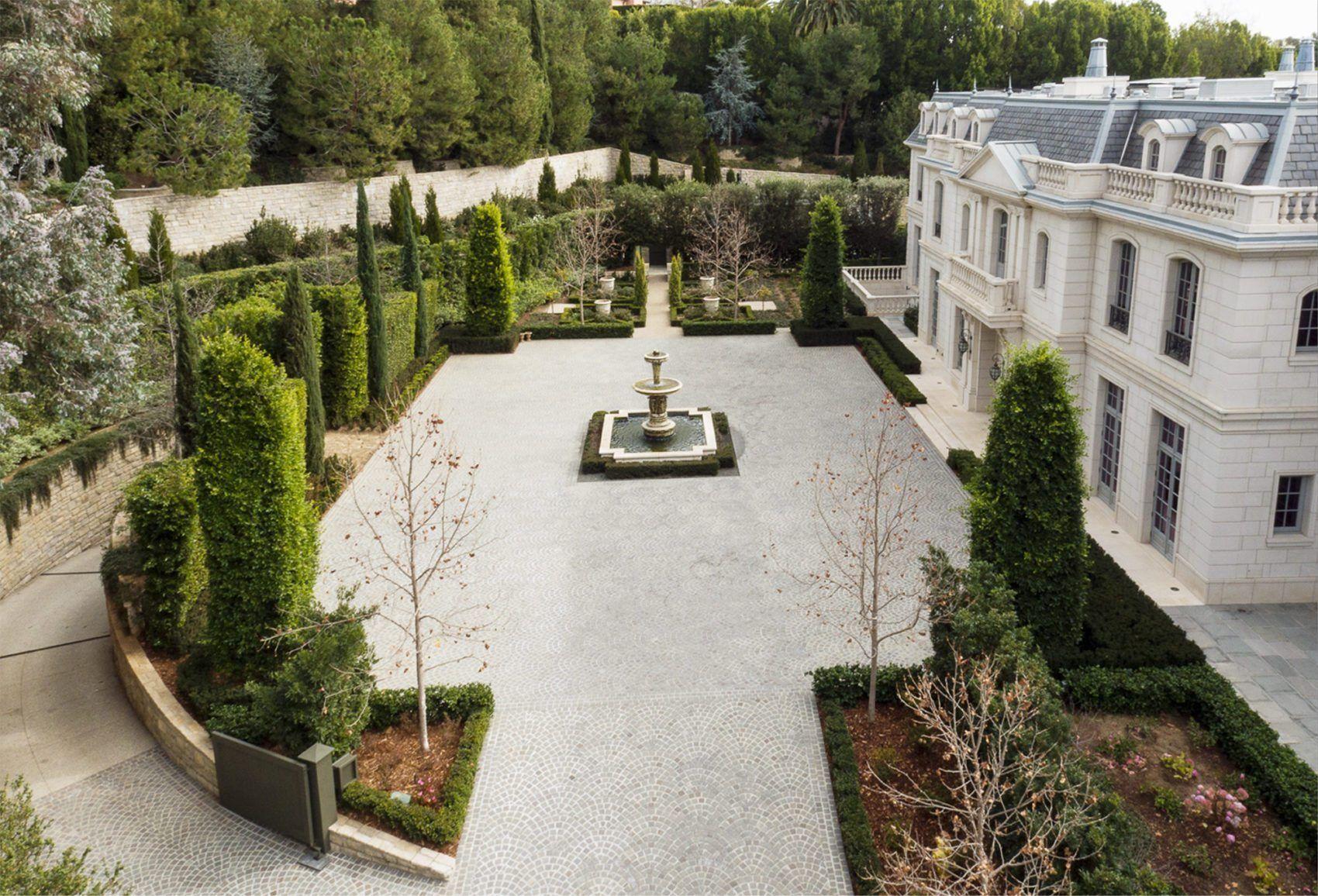 Chateau Des Fleurs Landscape Landscape French Chateau Chateau