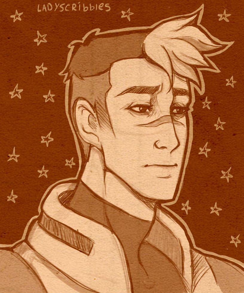 Shiro Doodle by LadyScribbles