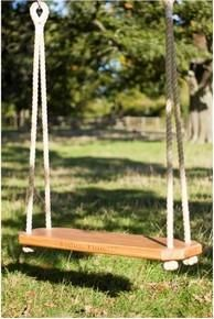 Traditional Solid Oak Tree Swing Double Adult Solid