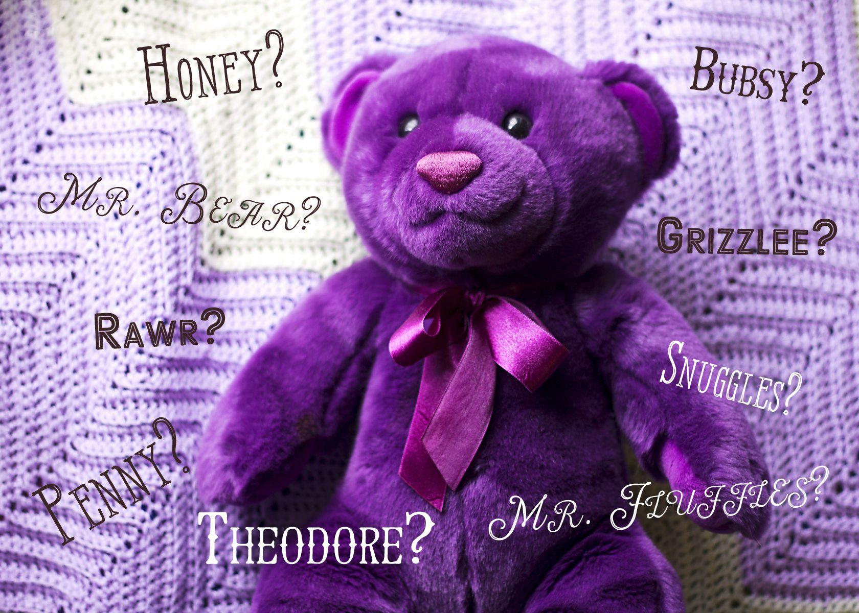 Cute names for teddy bear