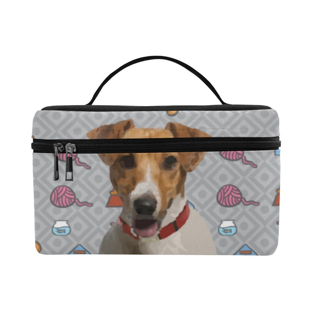 9f6bd0c9f187  TeeAmazing -  e-joyer Jack Russell Terrier Cosmetic Bag Large - AdoreWe