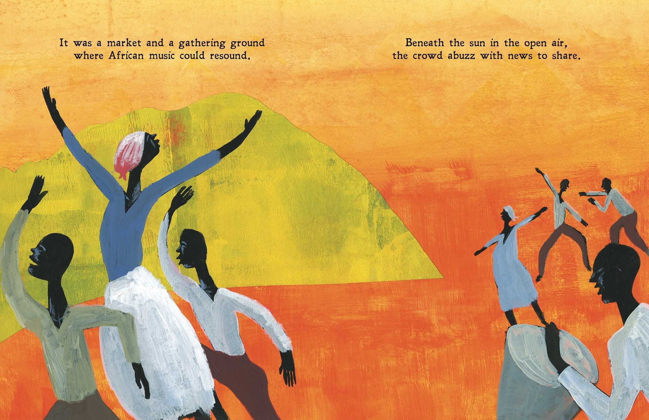 Freedom In Congo Square Carole Boston Weatherford R Gregory Christie Picture Book Illustration Childrens Illustrations