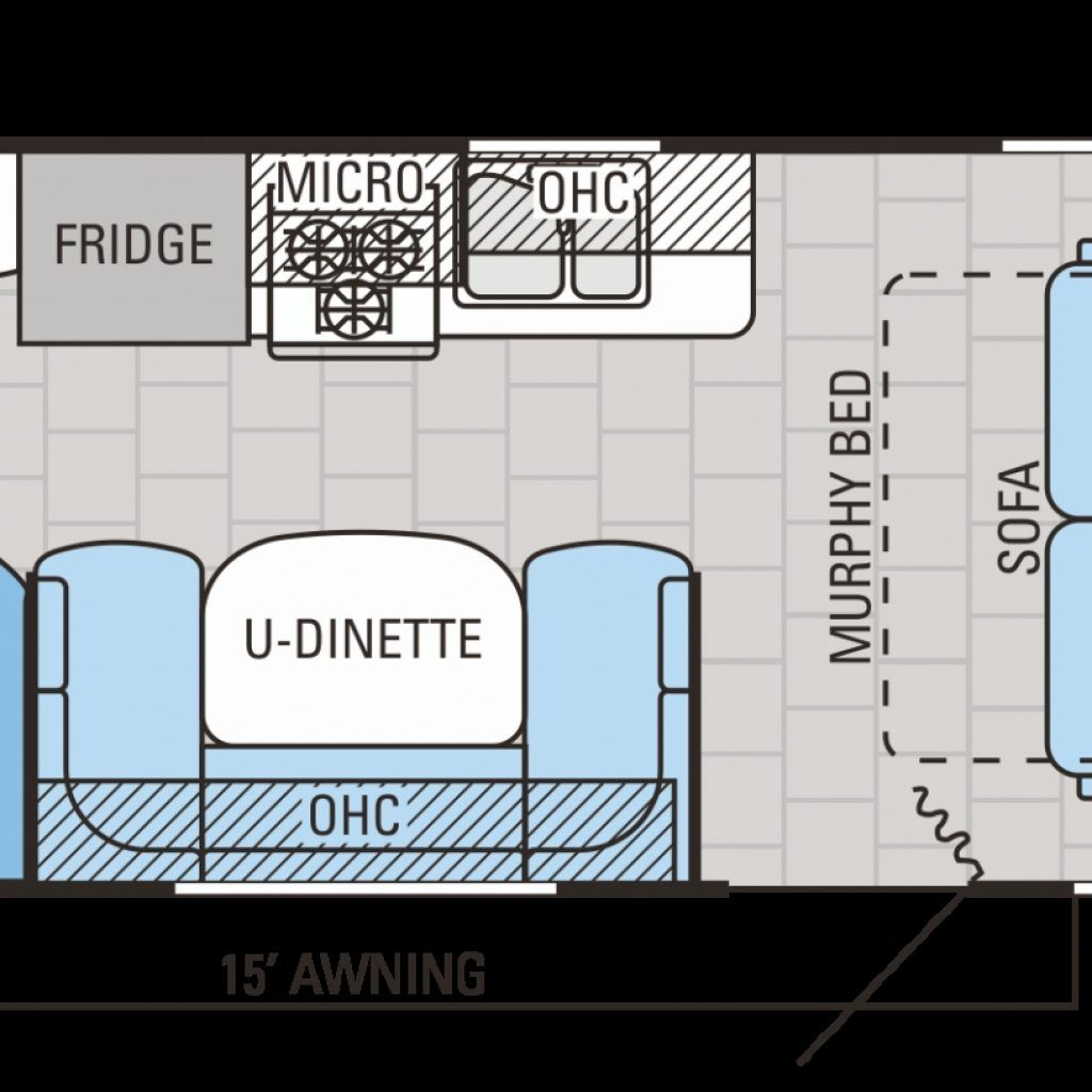 Travel Trailer Floor Plans Rear Living