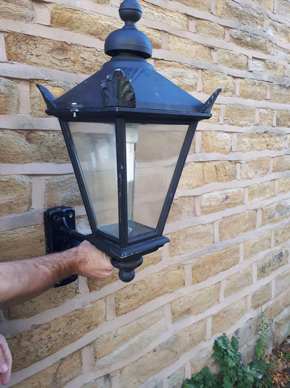 Vintage Antique Style Retro Outdoor Garden Wall Light Lantern With