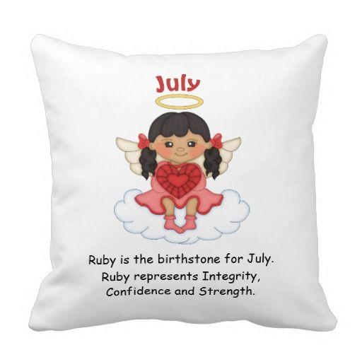 July Birthstone Angel Black Pillows http://www.zazzle.com/july_birthstone_angel_black_pillows-189394526241754542?rf=238631258595245556